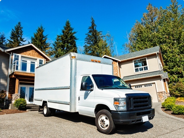 Hire someone to load a moving truck